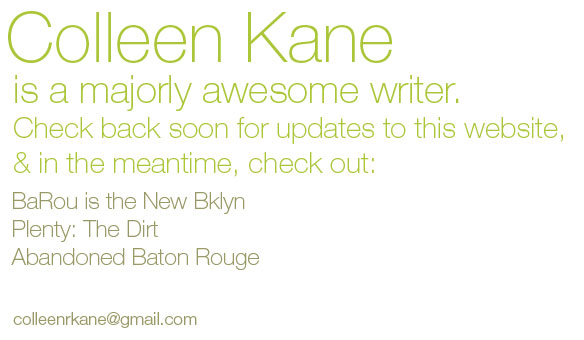 Colleen Kane is a Majorly Awesome Writer